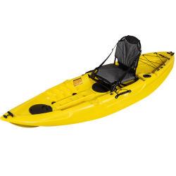 Kayak de la pédale de bateau en plastique pour les deux tournées et de la pêche
