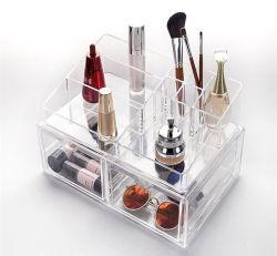 Encimera de la belleza de acrílico Expositor Organizador de la caja de almacenamiento de cosméticos