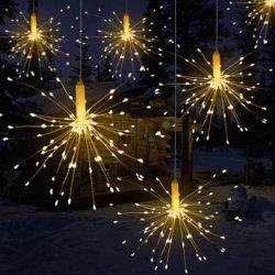 Espetáculo de luzes de Cadeia de Caracteres de decoração de luzes de Natal Light