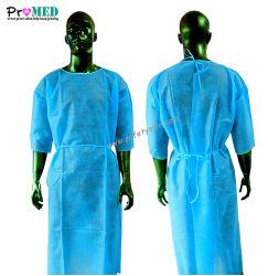 Поставки медицинских и стоматологических/клинике нетканого материала/PP/SBPP/SMS/Spunlace операции изоляции хирургических Короткое платье втулки