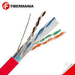 Оптоволоконные высшего качества для использования вне помещений Cat6 STP кабель для массовых пройти тест компании Fluke сетевой кабель