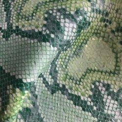 Synthetische Leer van pvc van Snakeskin het Kronkelige voor de Stoffering van de Bagage van de Zak