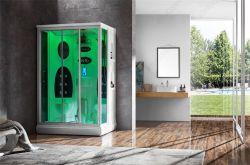 Doubles portes d'avantages pour la santé de coin sauna à vapeur Chauffage Salle de Wer