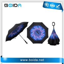 자동적인 견주 비 우산 또는 겹 일요일 옥외 선물 우산 또는 주문 승진 골프 우산 또는 광고하기 알루미늄 똑바른 방풍 우산 (T (UA32203)