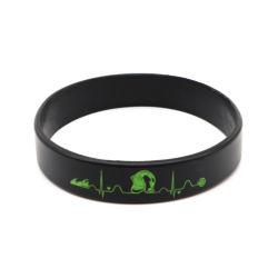 Crianças Logotipo bracelete de Silicone pulseiras banda Kids Sport pulseiras de Silicone