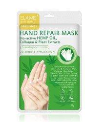 Sementes de cânhamo Máscara mão hidratos e hidrata o cuidado de mão