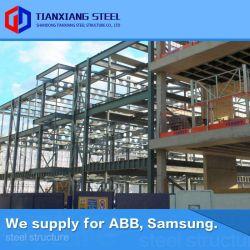 Costruzione di memoria prefabbricata pre costruita prefabbricata industriale su ordinazione della fabbrica del gruppo di lavoro del magazzino della costruzione della struttura del blocco per grafici dell'acciaio per costruzioni edili del metallo Q355