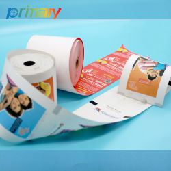 Pré-impresso colorido POS Rolos de Papel Térmico para local