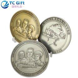 Le Koweït personnalisée en usine militaire /3D 2D Or/Argent/Bronze Défi Coin Metal Crafts figures historiques de la Marine des pièces de monnaie de souvenirs de bourses d'entreprise Cadeau personnalisé