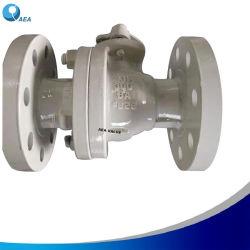 API6d ANSI expressos em aço carbono UM216 Wcb 150lbs Corpo Dividido Banco Rptfe Insira a extremidade flangeada flutuante da válvula de esfera