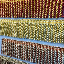 Commerce de gros de 8 cm de plus de couleurs Bullion Fringe pour décoration Rideau