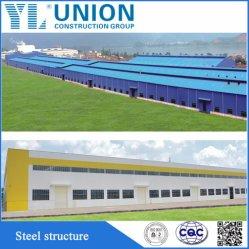 Estrutura de aço barato União Parcela Fácil Workshop de Aço
