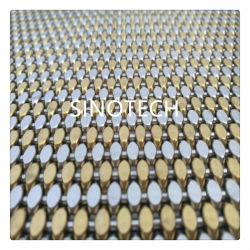 高品質のいろいろな種類のカラー装飾的なカーテン・ウォールか装飾的な建築ステンレス鋼の金網のカーテンの網またはエレベーターの装飾的な網