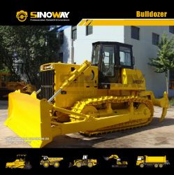 El chino 220CV bulldozer de orugas excavadoras Tractor de tipo de pista