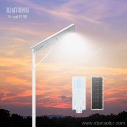 [إكسينتونغ] كلّ في أحد /Integrated [سلر بنل] [موودل] حشوة بطارية شمسيّة شارع [لد] مصباح مع [8م-12م] [بول] مسيكة