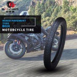 20 ans ISO9001 tout-terrain d'usine Tubeless Dirt Bike Scooter ATV MRF/le pneu en caoutchouc pour les Philippines Kenya Bajaj moto 3.00-17 3.00-18 B024