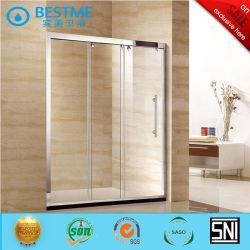 Trois combinés Porte coulissante Porte de douche simple d'acier (BL-F3009)