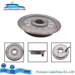 Des Edelstahl-316 Unterwasserlicht Brunnen-Pool-Licht-Brunnen-der Düsen-LED