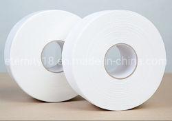 100% de pulpa virgen blanco pañuelo de papel de los padres grandes rollos de tejido rollo Jumbo