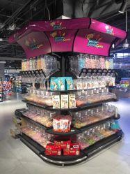 Metal forte Supermercado Frutas e Vegetais Prateleira de exibição
