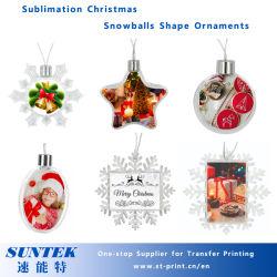 تصميد فارغة عيد ميلاد المسيح مدلّاة كرة مجوهرات
