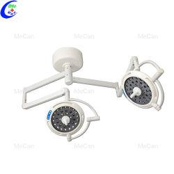 Хирургических LED Shadowless рабочего фонаря двойной опоры маятниковой подвески головки блока цилиндров хирургические лампы