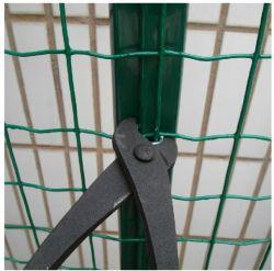 L'euro rivestimento del PVC del materiale da costruzione della rete metallica dell'Olanda della rete fissa ha galvanizzato la rete metallica saldata ferro