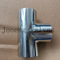الصينية الفولاذ المقاوم للصدأ الغذاء من النوع الملحوم المساواة Tee (JN-FT1004)