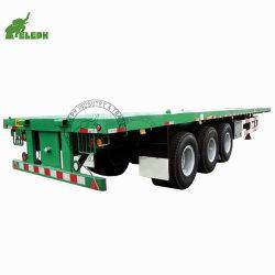直売の工場新しい使用された平面容器の半トラックのトレーラー