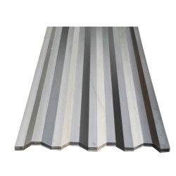 Tôle de toit ondulé Matériaux de Construction 3105 l'aluminium