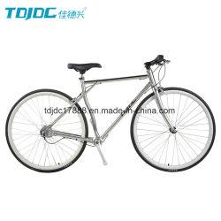 Kein Aluminiumlegierung-Gabel-Fahrrad des Sport-Bike/700c/silbernes Straßen-Fahrrad warten