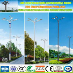 Gros en Chine usine Parc décoratif lampe doux après le nettoyage de l'Énergie solaire Énergie pôle d'éclairage de rue
