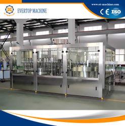 Automatic Mineral garrafa de água potável pura máquina de enchimento/monobloco planta// Linha de Produção
