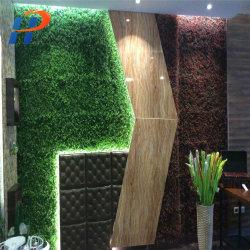 L'herbe en plastique décoration murale MUR DE GAZON ARTIFICIEL plante pour la décoration de domestiques et de bureau