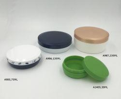 毛のワックスの容器手のクリームの円形の瓶は壁の安い瓶200ml 130gを選抜する