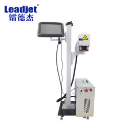 Stable Source laser de marquage de l'imprimante de code de fibre 20W/30W sur le tube/verre/métal