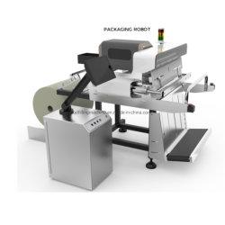 Автоматическая E-Shop простая Одежда Текстиль печать и упаковочные машины