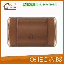 Nouveau design de couleur marron 16A Contacteur de sonnette