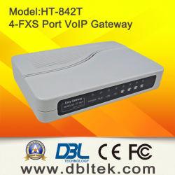 Le VoIP ATA avec les ports 4FXS à se connecter par interface au PSTN téléphone (HT-842T)