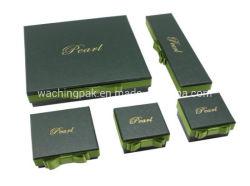 Cuadro decorativo verde de lujo Joyas de la caja de regalo Embalaje