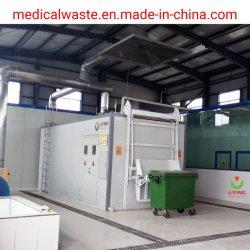 De medische Verwijdering van het Afval met Sterilisator 5 van het Afval van het Ziekenhuis van het Systeem van de Desinfectie van de Microgolf