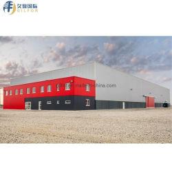 Structure en acier Gilfor pour chambre froide/congélateur/réfrigération/usine de transformation alimentaire de bâtiments de l'atelier