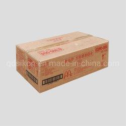 Boîte d'emballage en carton ondulé personnalisé qualifié pour l'expédition