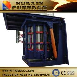 L'1.5Ton Mf four de fusion par induction coquille en acier