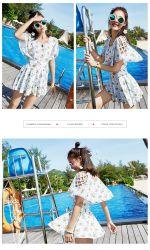 Les femmes sans manches imprimé Vintage Strappy Summer Beach Swing