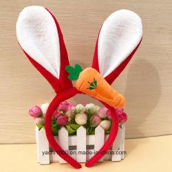 Commerce de gros lapin en peluche de cadeaux de Pâques à l'arceau