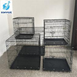 Deux portes Les animaux de compagnie Les cages pour chien/chat/cage de lapin