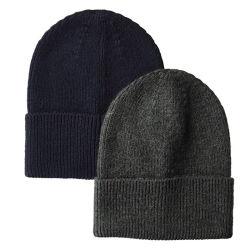 Commerce de gros bon marché tricot chaud d'hiver personnalisé Beanie Hat