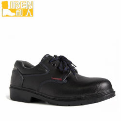 Schwarze Militäruniform-lederne Schuhe