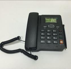 Téléphone de bureau fixe sans fil GSM avec radio